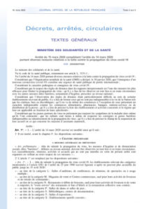 decret coronavirus 16 03 2020