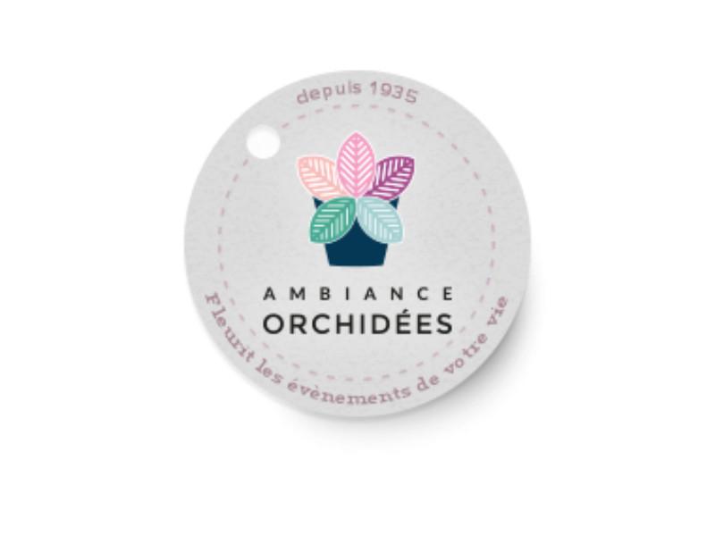 Ambiance orchidées à Gattières
